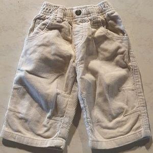 Size 000 Corduroy pants
